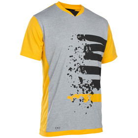 ION Letters Scrub AMP Tee SS Men smiley yellow